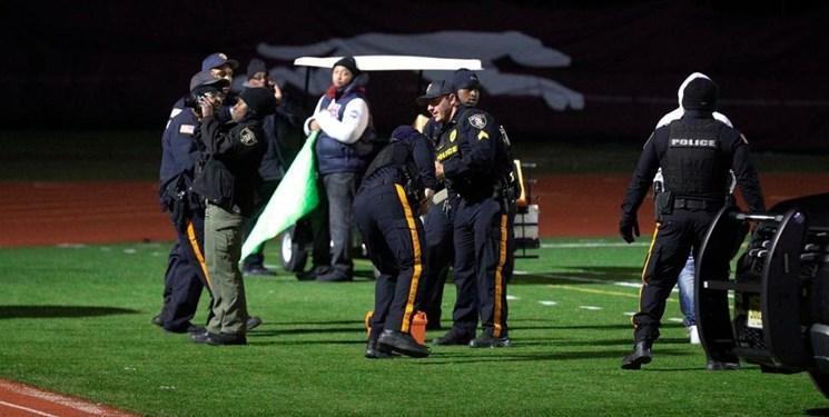 تیراندازی حین یک بازی فوتبال دانش آموزان در نیوجرسی دو مجروح برجا گذاشت
