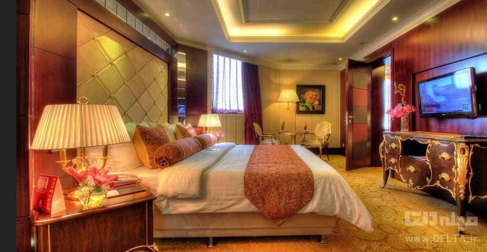 هتل پارسیان آزادی ، تمام احترام سنتی ایرانیان