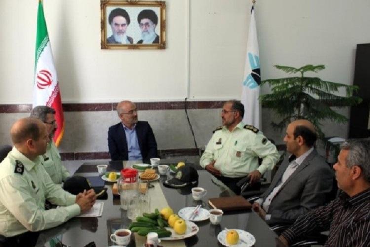 امضای تفاهمنامه میراث فرهنگی و نیروی انتظامی