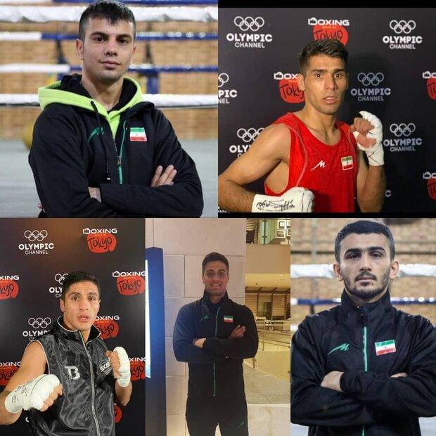 شرایط کسب سهمیه المپیک 5 ملی پوش کشور، سهمیه در مشت ایرانی هاست