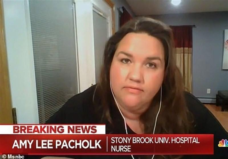 تعلیق پرستار آمریکایی از کار به دلیل انتقاد از کمبودها!