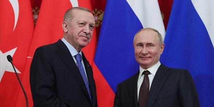 گفت وگوی اردوغان و پوتین در باره آخرین تحولات سوریه و لیبی