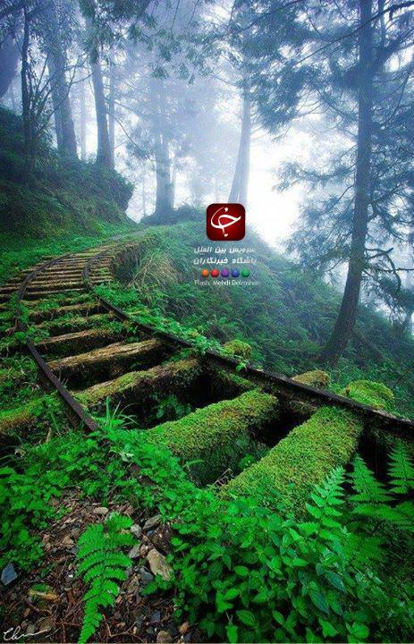 خط آهن بهشت+عکس