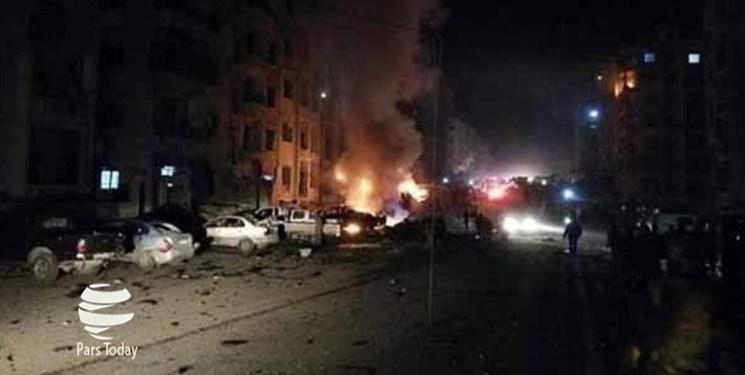 4 نفر بر اثر انفجار خودروی بمب گذاری شده در تل أبیض سوریه کشته شدند