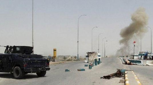 انفجار بمب در جهت کاروان ائتلاف آمریکایی در عراق