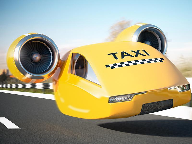 از رویا تا واقعیت تاکسی های پرنده