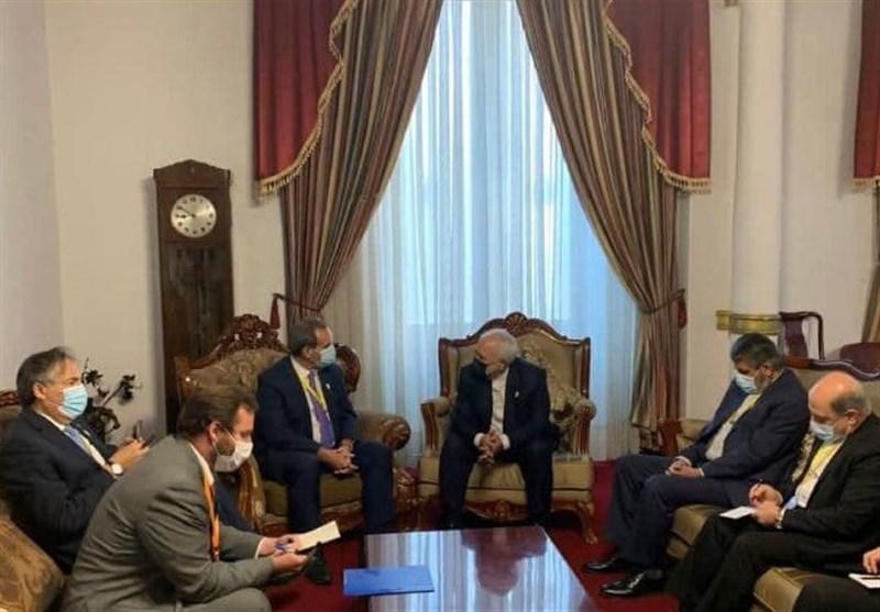 ظریف با همتای شیلیایی خود در بولیوی دیدار کرد