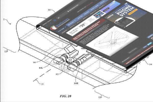 اپل برای گوشی&zwnjهای تاشو لولای جدید اختراع کرد