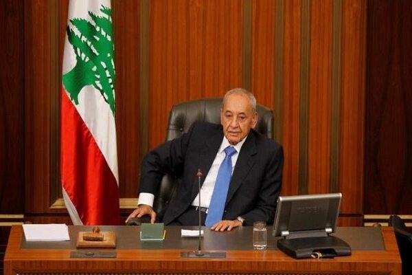 نبیه بری بر لزوم تشکیل هرچه سریعتر دولت جدید لبنان تأکید کرد
