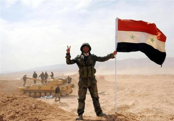 سوریه، عملیات ارتش علیه تروریست های داعشی در صحرا