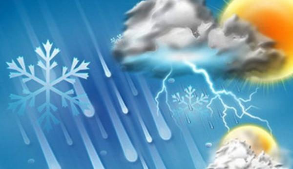 ورود سامانه بارشی از ظهر امروز به کشور ، برف و باران در استان های غربی