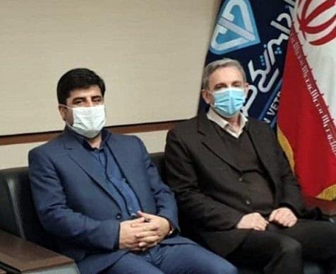 تجلیل رئیس سازمان دامپزشکی کشور از رئیس سازمان جهادکشاورزی استان آذربایجان شرقی