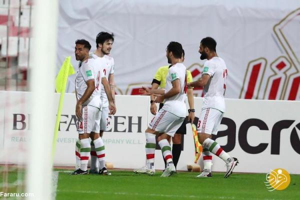 گل های بازی ایران ، بحرین با گزارش عربی